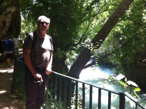 Walking to Upper Duden Waterfalls, Antalya