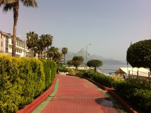 Walking way in Kemer