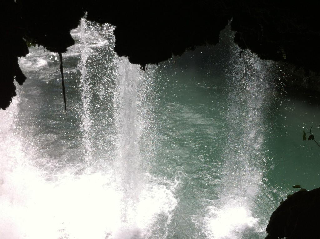 The Cave behind Upper Duden Waterfall