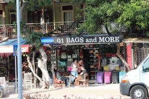 A shop in Kemer