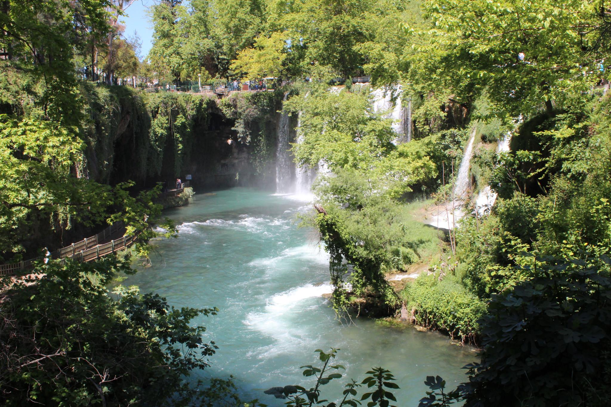 آبشار دودن در آنتالیا