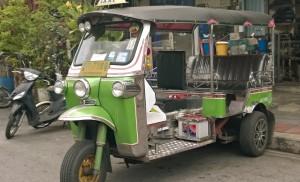 A typical Bangkok tuk-tuk