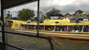 Chao Praya river boat