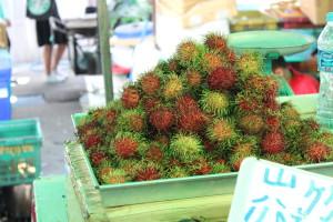 Fruits sold at Chinatown Market, Bangkok