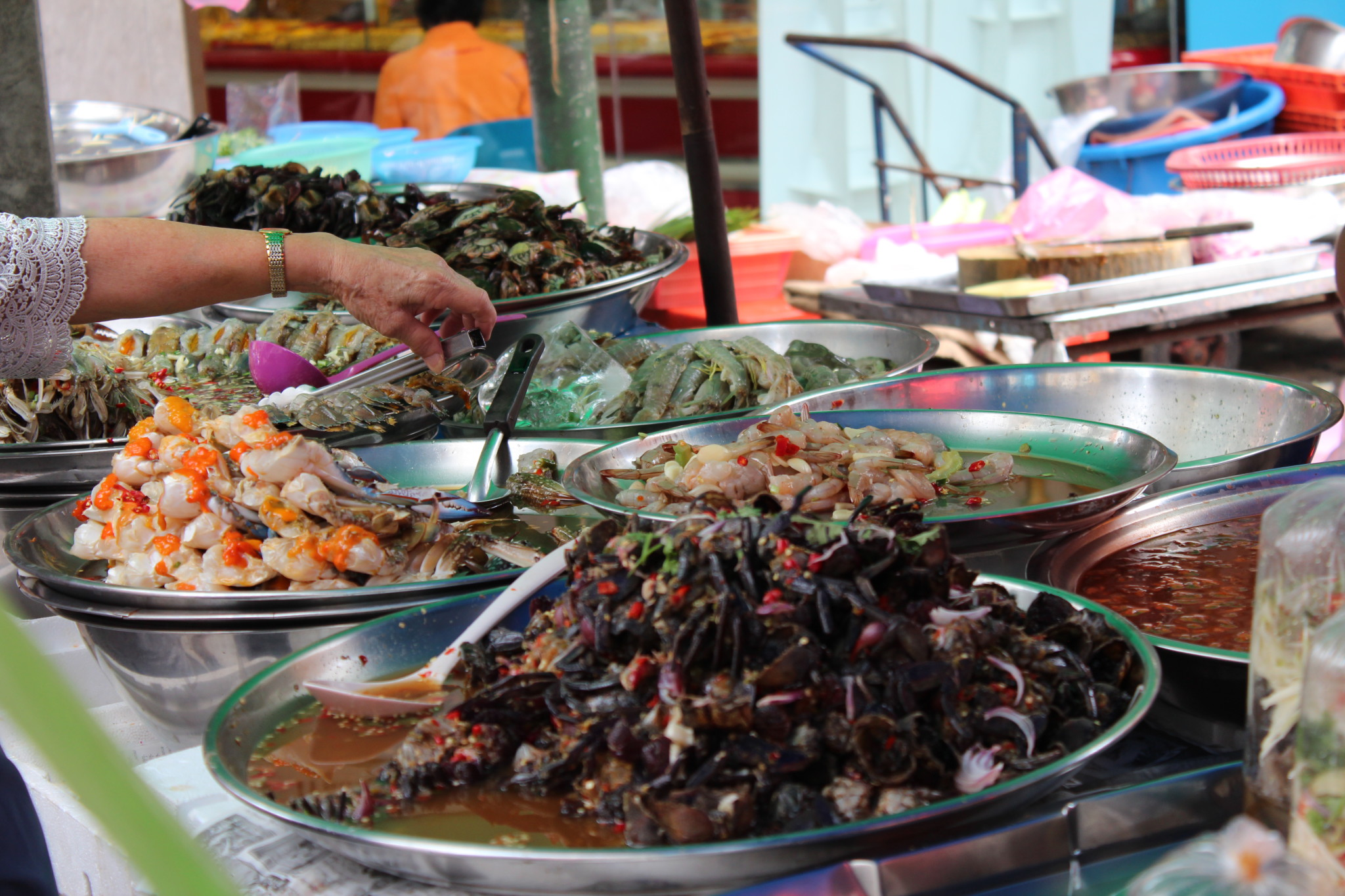 Street food in Bangkok Chinatown - Routes and Trips