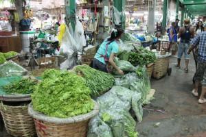 Vegetables on Flower Market, Bangkok
