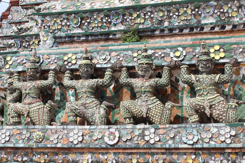 Decorations, Wat Arun, Bangkok