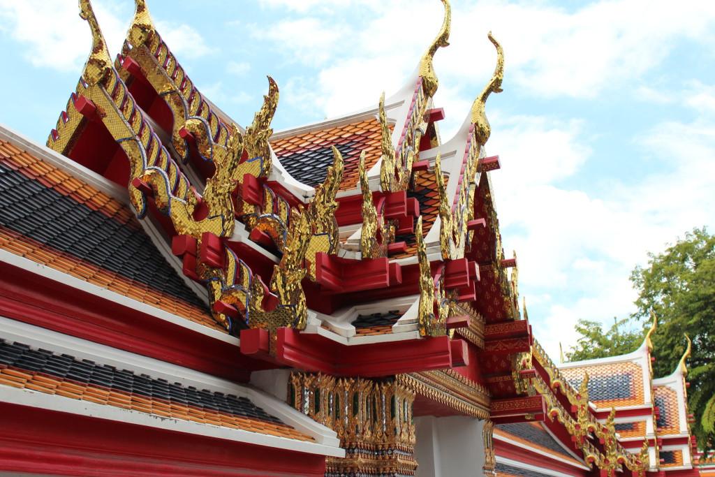 Wat Pho, Bangkok by river boat