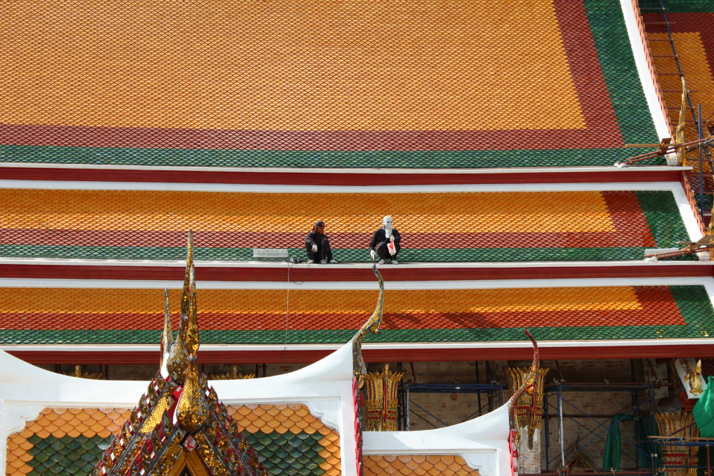 Temple roof, Bangkok
