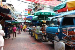 A view of Bangkok Chinatown Market
