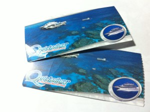 Barrier Reef cruise tickets