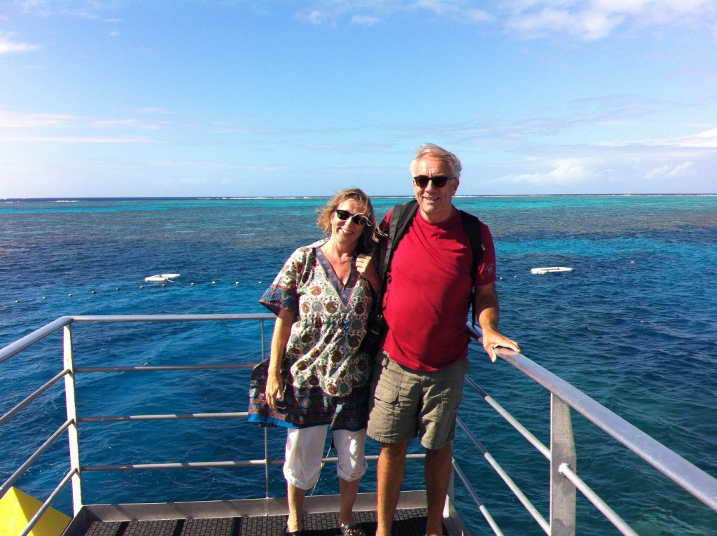 We loved to cruise the Barrier Reef