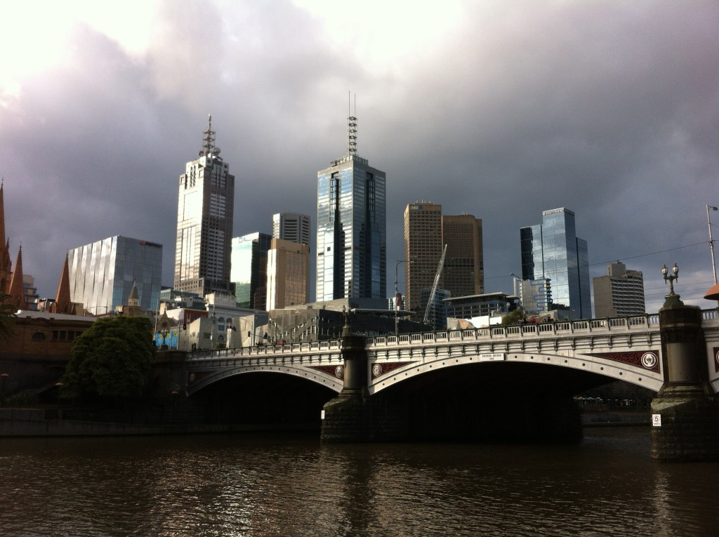 Yarra River walk, Melbourne