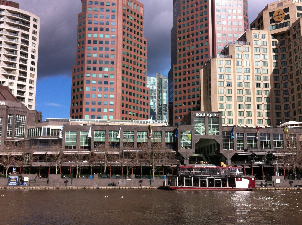 Southgate, Melbourne Yarra River cruises starting point
