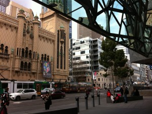 A Venetian style house, Federation Square, Melbourne