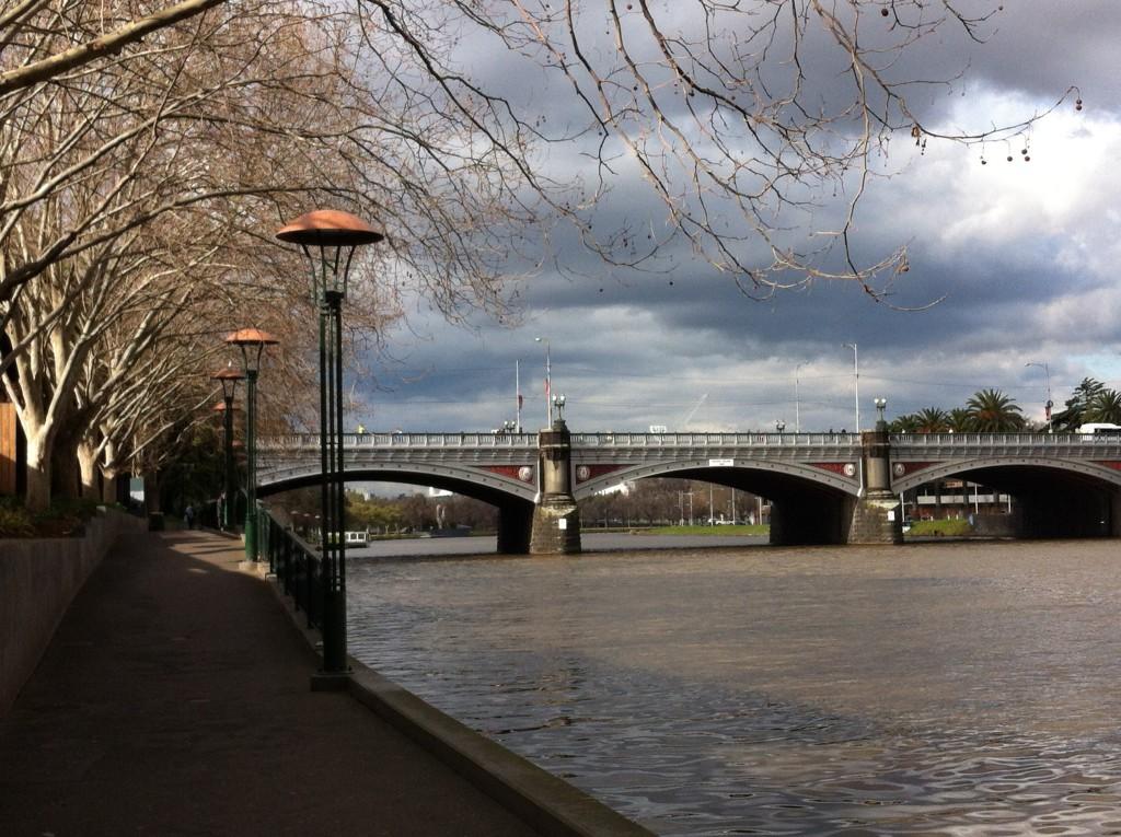 Yarra River walk, Melbourne