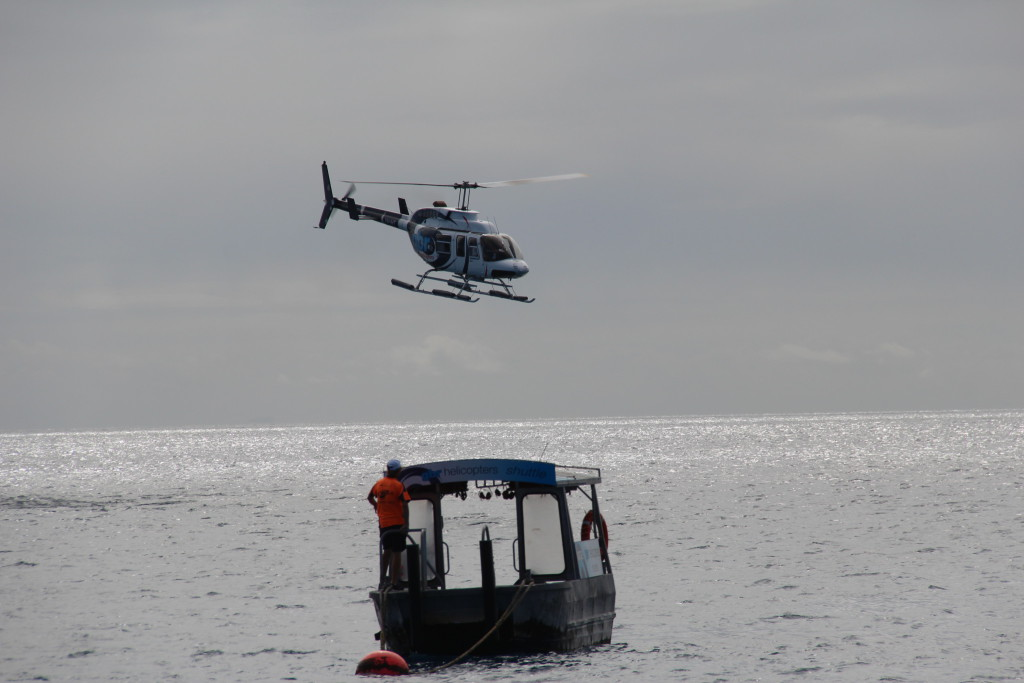 Agincourt Reef helicopter tour