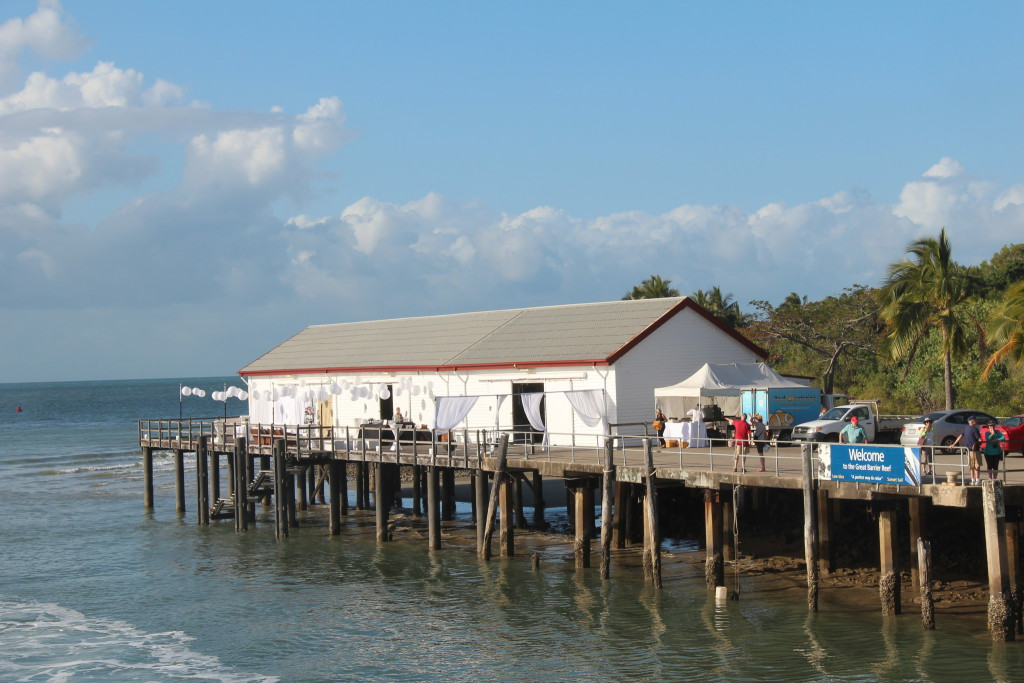 Port Douglas harbour shed