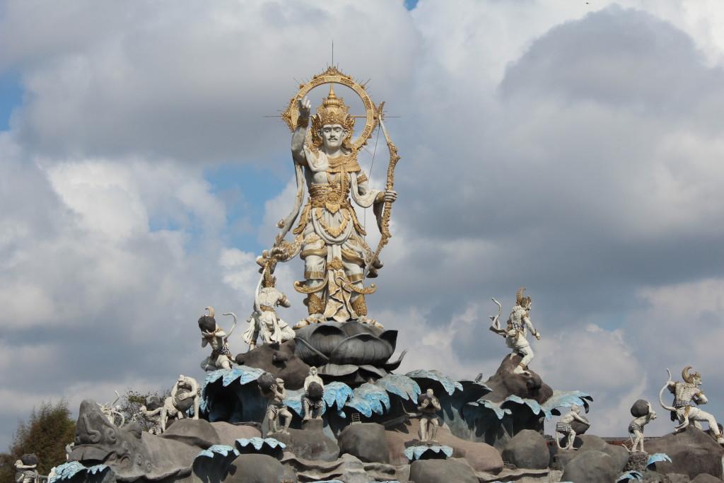 Statues in Bali