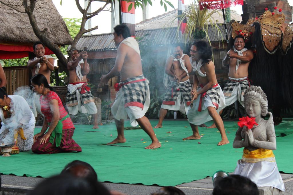 Barong dancers, Batubulan, Bali