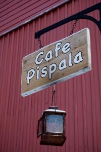 Cafe Pispala sign