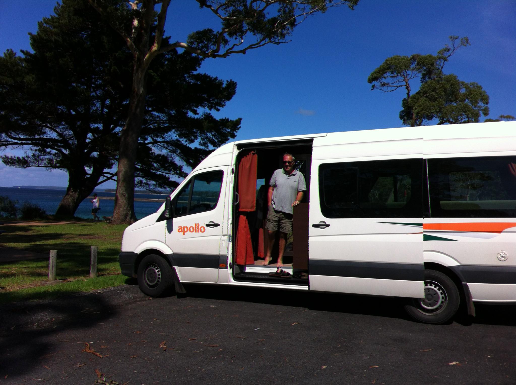 Melbourne to Sydney drive, our campervan