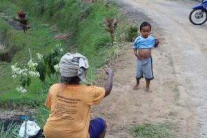 Local life in Jatiluwif, Bali