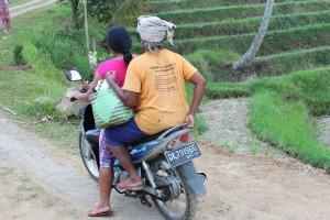 Locals in Jatiluwif, Bali