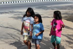 School children in Bali
