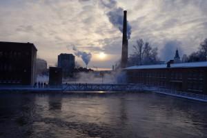 Tammerkoski walking bridge, Tampere
