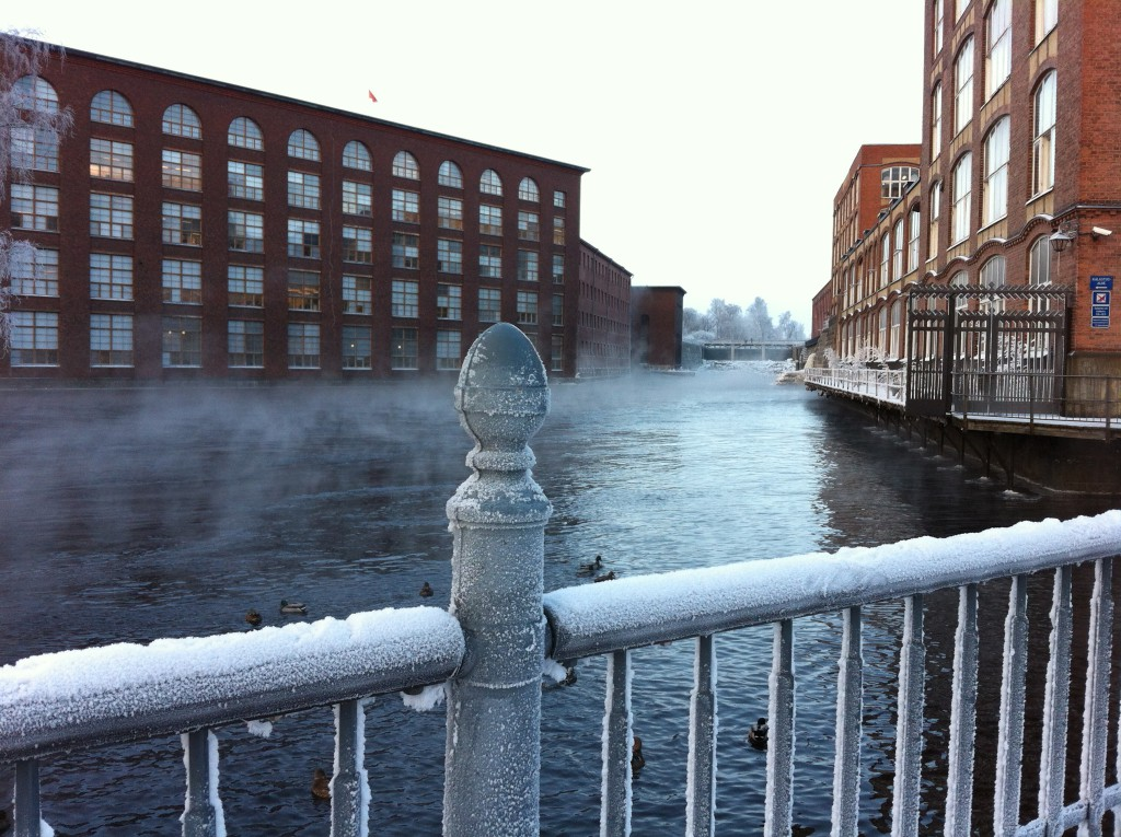 Tammerkoski winter weather, Tampere