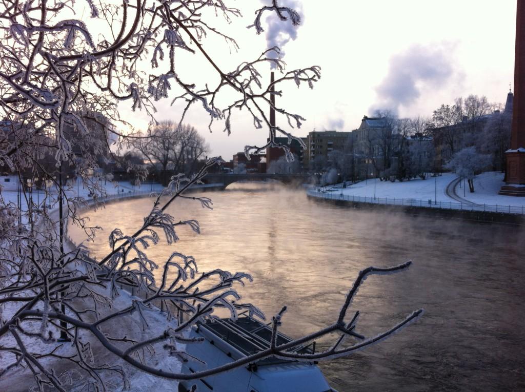 Tammerkoski, Tampere winter walk