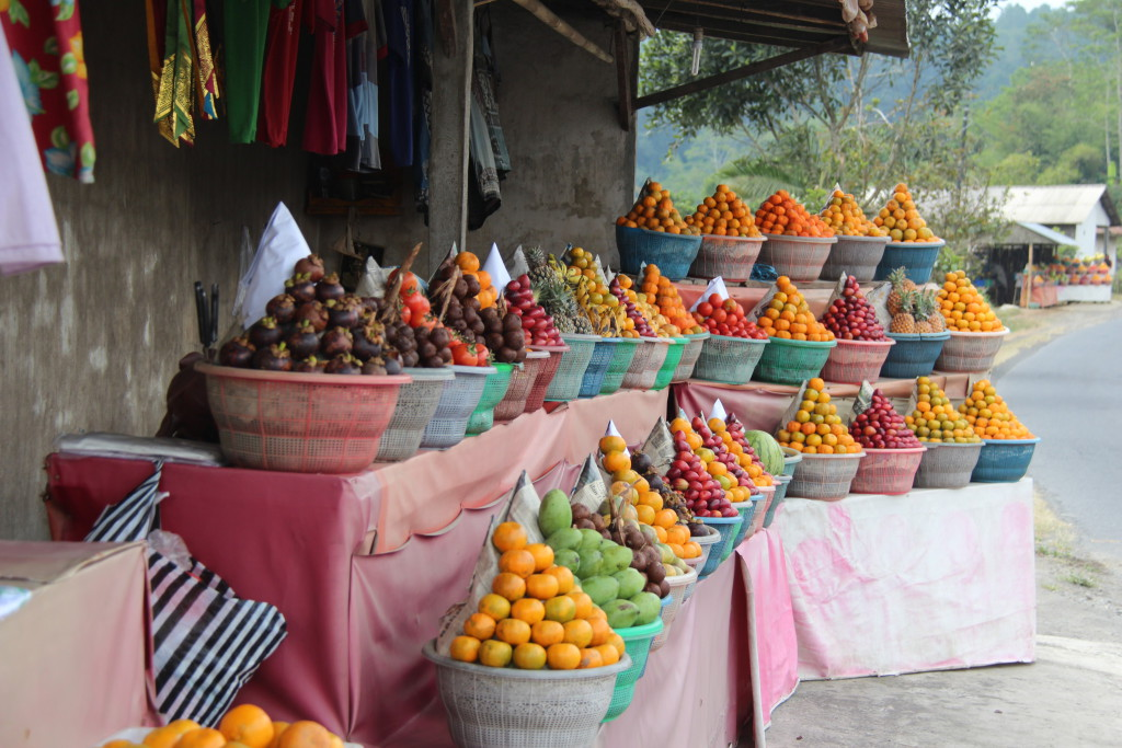 Fruits on the day trip to Central Bali