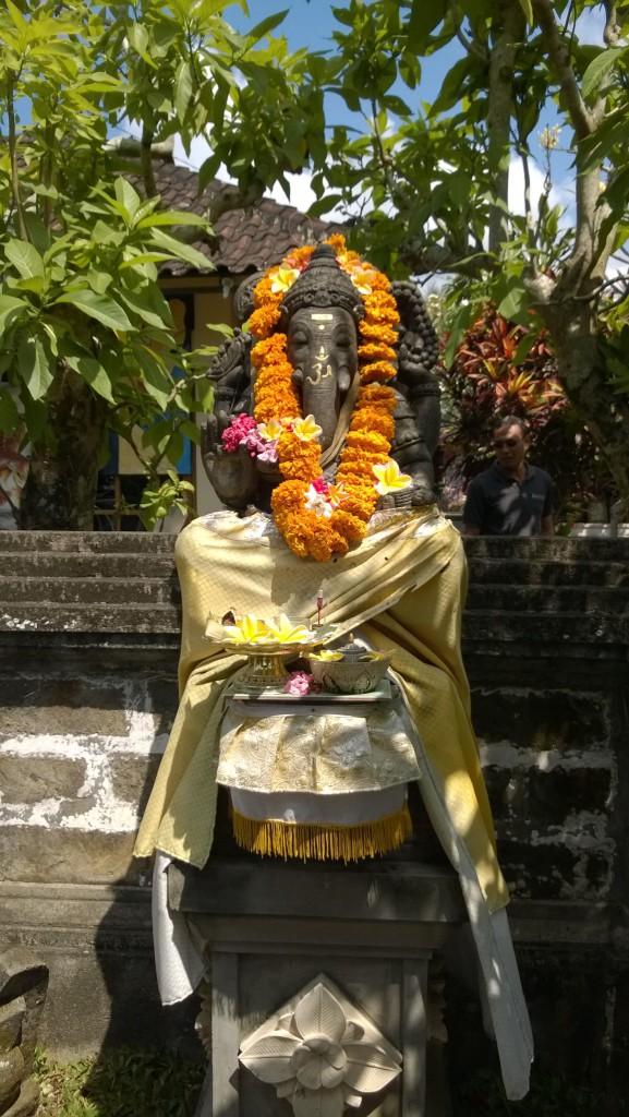 Balinese elephant statue