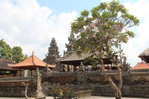 Balinese village temple