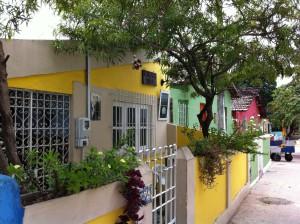 Colorful Olinda houses