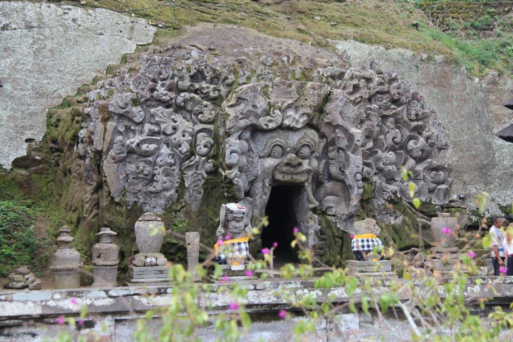 Goa Gajah cave entrance