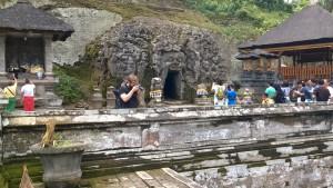 Goa Gajah visitors