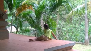 Local child at Goa Gajah
