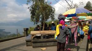 Mt. Batur vendors