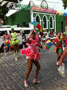 Olinda Carnival dancers