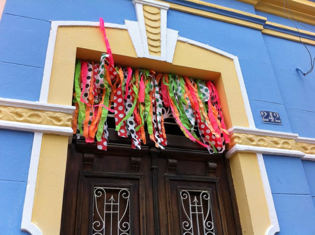 Olinda Carnival decorations
