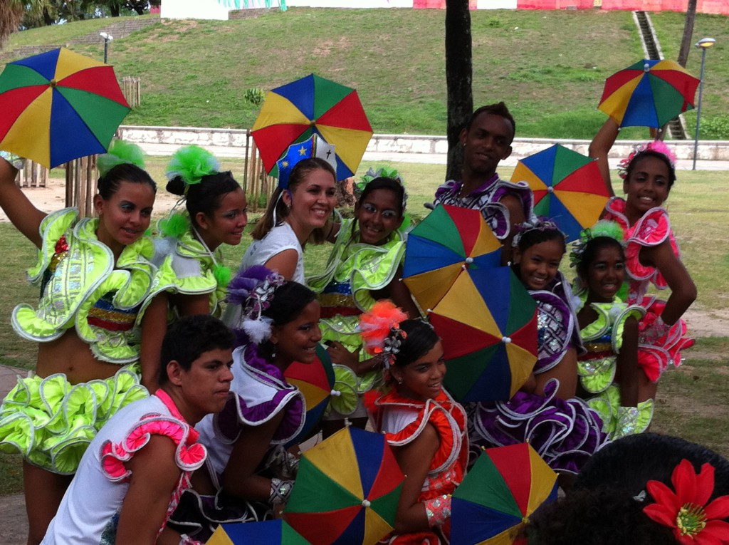 Olinda Carnival group photo