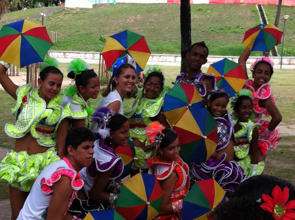 Olinda Carnival group photo