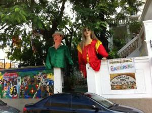 Olinda Carnival house gate