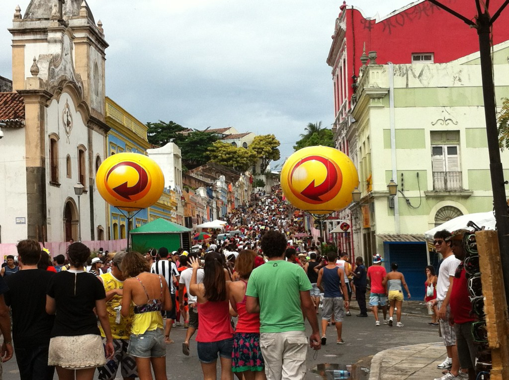 Olinda Carnival main street