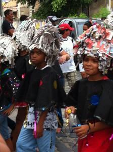 Olinda Carnival school boys