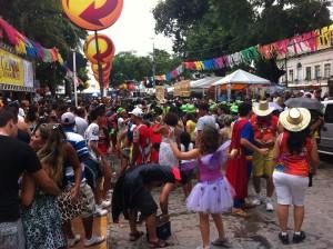 Olinda Carnival spectators