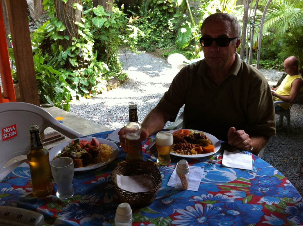 Olinda lunch and beer
