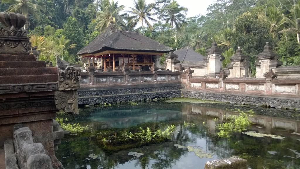 Pura Tirta Empul pond